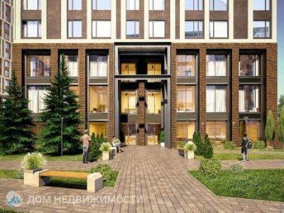 3-к ЖК «Парковый квартал», 79 м2, 7/34 эт.